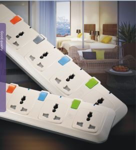 High Quality Multiple Extension Socket Outlet with Switch pictures & photos