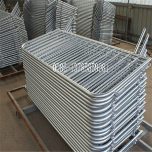 Hot-Dipped Galvanized Pedestrian Control Barriers pictures & photos