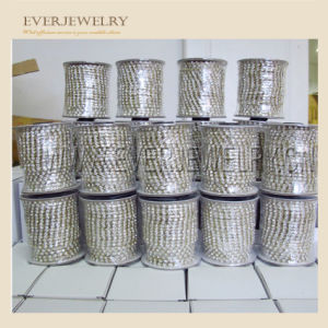 45 Colored Handmade Rhinestone Glass Crystal Cup Chain Wholesale Rhinestone Chain pictures & photos
