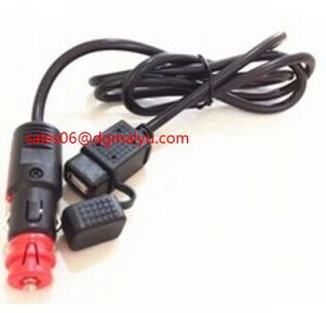 Extension Cord Socket with Switch 12V USB Power Outlet Socket pictures & photos