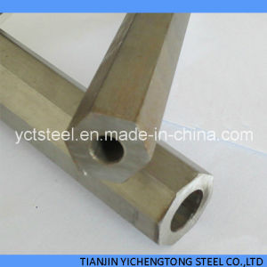 Seamless Special Section Steel Tube with Copper Coated Finish pictures & photos
