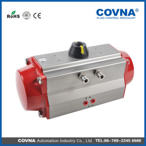 Aluminum Pneumatic Ball Valve Actuator Made in China pictures & photos