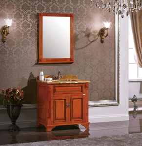 Classic Design Solid Wood Bath Vanity pictures & photos