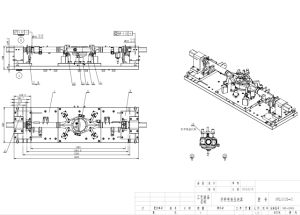 Custom Hydraulic Workholding with Boring Lute Hole of Rear-Axle Housing pictures & photos
