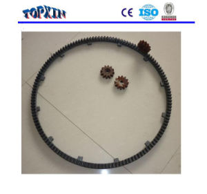 Cement Mixer Parts Iron Casted Ring Gears pictures & photos