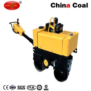 Hand Push Double Drum Vibratory Roller pictures & photos