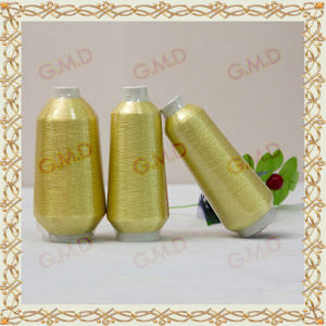 St Type Golden Plastic Pipe Lurex/Metallic Yarn