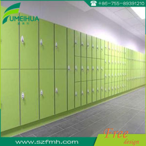 HPL Compact Laminate 1200*400*1900mm Electronic Safe Cabinet Locker pictures & photos
