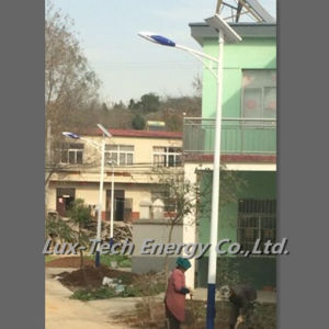 20W Solar Street Light with LED Light Source