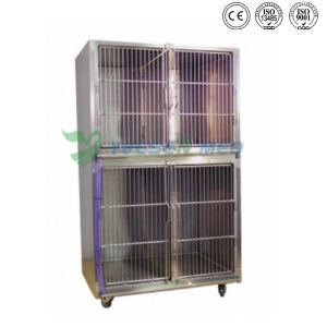 Ysvet8103 Hospital Clinic 304 Stainless Steel Pet Dog Crates pictures & photos