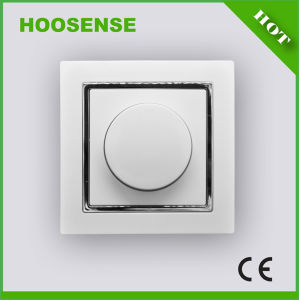 Good Switch Hoosense Electrical Appliance Manufacturing Dimmer Switch 1 Gang 1 Way with Rotary Switch H1-H35da