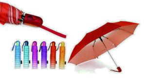 Strip Rainbow Compact Aluminium Light Umbrella (YS-3FM21083949R) pictures & photos