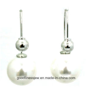 Good Quality and Fashion Jewelry Pearl Earrings Pearl 8mm 6mm Cute Fashion Girl Pearl Earrings Women E6364 pictures & photos