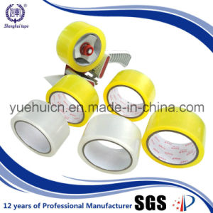 Best Quality of acrylic Adhesive Yellowish OPP Packing Tape pictures & photos