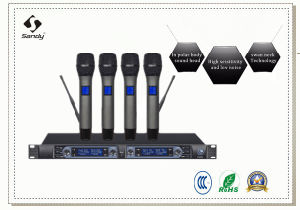 4channels Professional Wireless Microphones