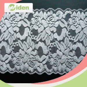 New Design Decorative Lace Trim Voile Lace Fabric Elastic Lace pictures & photos