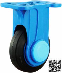 4′′ Rigid Nylon Bracket Rubber Caster Wheel pictures & photos