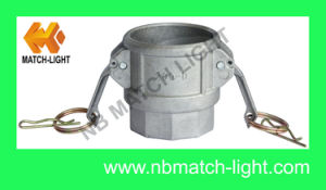Die Casting Aluminum Cam and Groove Coupling pictures & photos