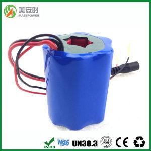 Round Shape 7.4V 7800mAh Li Ion Battery