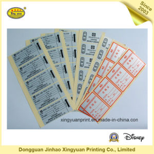 Printing Label Waterproof Roll Self Adhesive Sticker (JHXY-AS00017) pictures & photos