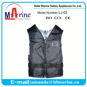 Navy Color Classic Style Boating Life Jacket pictures & photos