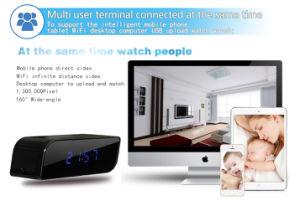 WiFi Clock IP Camera HD Security Mini DVR P2P pictures & photos