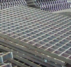Untreated Black Steel Grating for Platforms pictures & photos