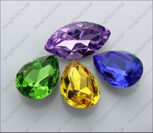 Hot Sale Decorative Lead Free Crystal Beads for Wedding Dress pictures & photos