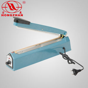 Plastic Bag Portable Hand Sealer with Middle Side Cutter for Paper Bags Manual Heat Sealing Machine pictures & photos