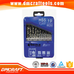 19 PC HSS Titanium Coated Drill Bit Set 1 - 10mm pictures & photos