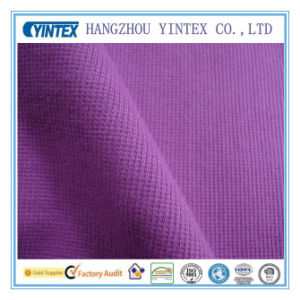 Knitted Plain Terry Cloth Fabric pictures & photos