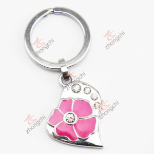Couples Crystals Heart Key Chain (KC)