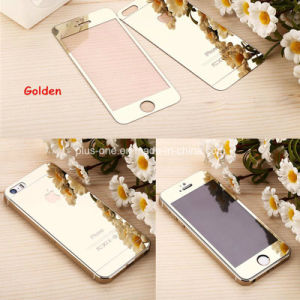 Color Mirror Tempered Glass Screen Protector for iPhone pictures & photos