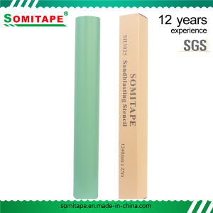 Sh3050 Super Adhesive PVC Stone Sandblast Stencil for Memorial Stones Engraving pictures & photos