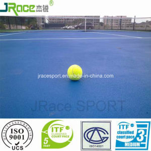 3-8 mm Available Plastic Outdoor Tennis Court Flooring for Sale pictures & photos
