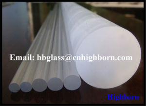 Heat Resistance Milky White Fused Silica Quartz Glass Sticks pictures & photos