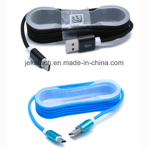 1.5m Nylon Braided Metal Plug Type C USB Cable pictures & photos