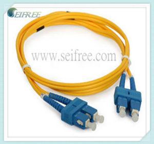 Sc-Sc Duplex Fiber Optic Patchcord (CATV LAN) pictures & photos