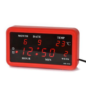 [Ganxin] Hot Sale! Switch Control LED Calendar Digital Clock for Promotion Gift