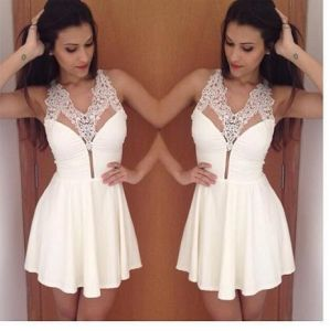 Summer Women Lace Dress Ladies Sexy Dress