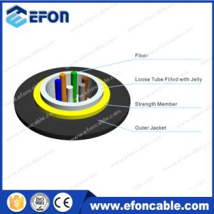Kevlar Reinforced Armoured 4 Core Fiber Optic Cable Indoor pictures & photos