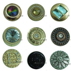Custom Types Jeans Jacket Denim Metal Button pictures & photos