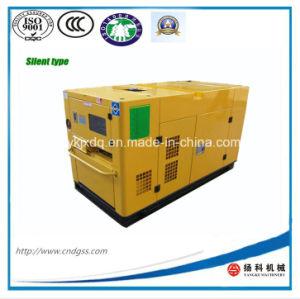 Weichai Engine 30kw/37.5kVA Silent Diesel Generator (K4100D5-1) pictures & photos