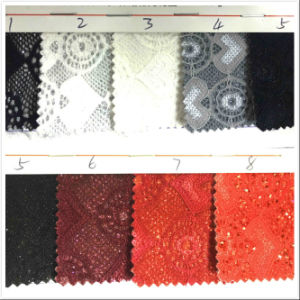 Gl-302 Decorative Shiny Glitter Wallpaper Fabric pictures & photos