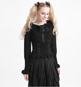 Lm-001 Halloween Fashion Women Knitted Woolen Latest Sweater pictures & photos