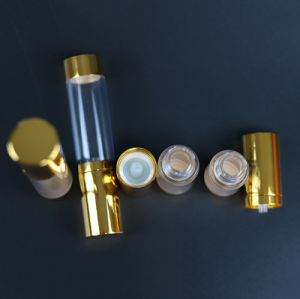 Plastic Cosmetic Lotion Bottle with Pump (NAB23) pictures & photos