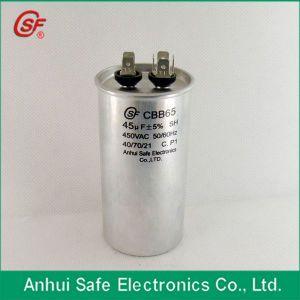 Round Shape Cbb65 Air Compressor Capacitor 40UF 450V pictures & photos