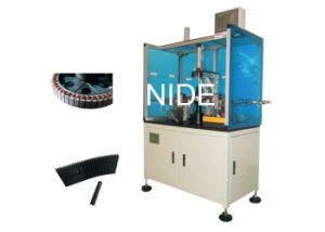 Double Station Wheel Motor Wedge Inserting Machine for Electrical Bike pictures & photos