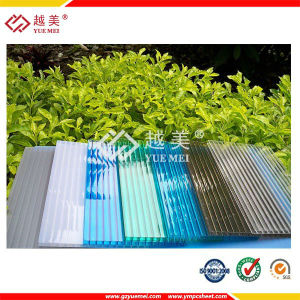 UV Coated Polycarbonate Hollow Sheet for Roofing Building Material pictures & photos