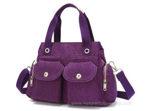 Canvas Ladies Handbag Shoulder Bag Tote Bag pictures & photos